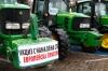 Bulgarien: Landarbeiter protestieren in Sofia gegen die Agrarpolitik derRegierung